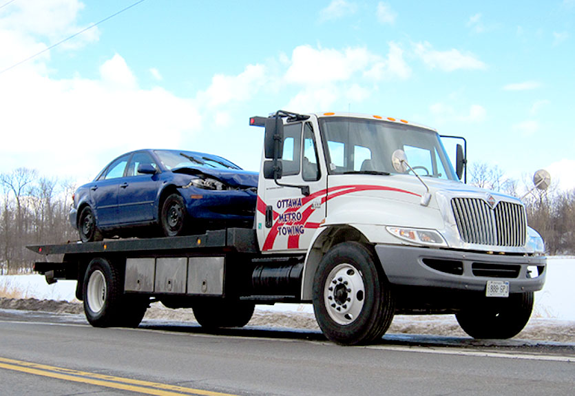 Fast Flatbed Towing in Ottawa